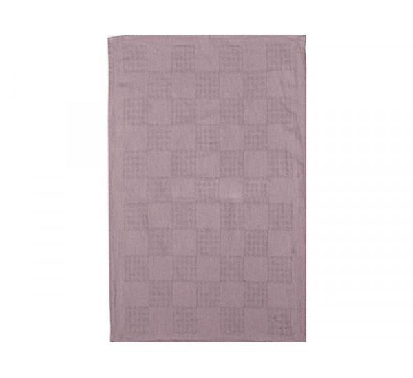 Полотенце льняное  умягченное Загадка  цвет лаванда