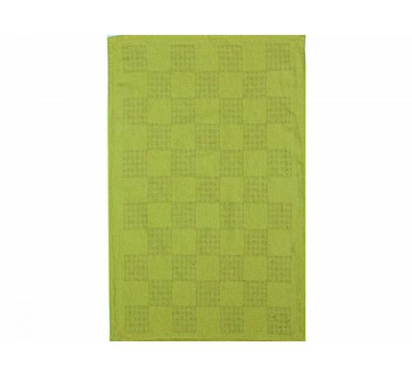 Полотенце льняное  умягченное Загадка  цвет салатовый