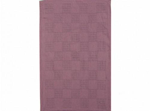 Полотенце льняное  умягченное Загадка  цвет сирень - 20С130