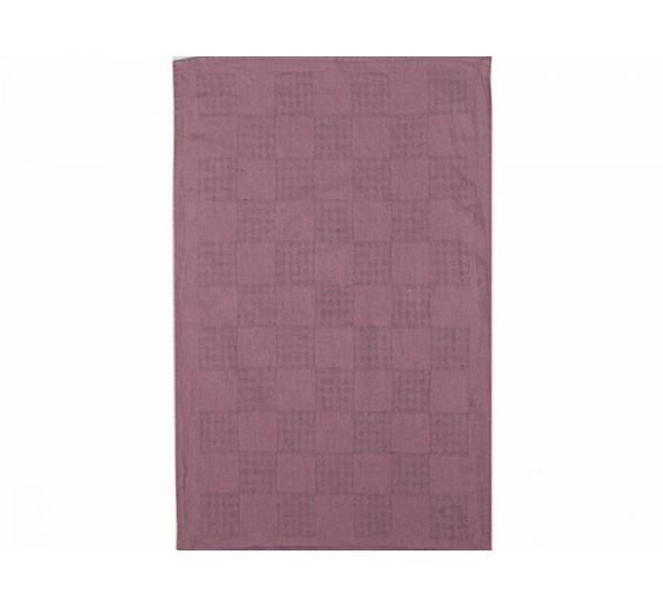 Полотенце льняное  умягченное Загадка  цвет сирень
