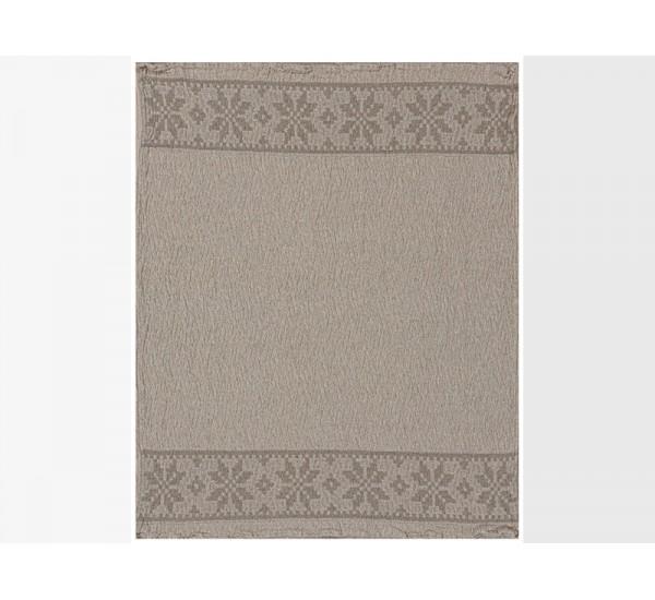 Полотенце льняное банное умягченное Орнамент-2