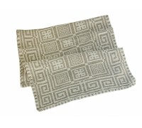 Полотенце льняное банное умягченное Греческое