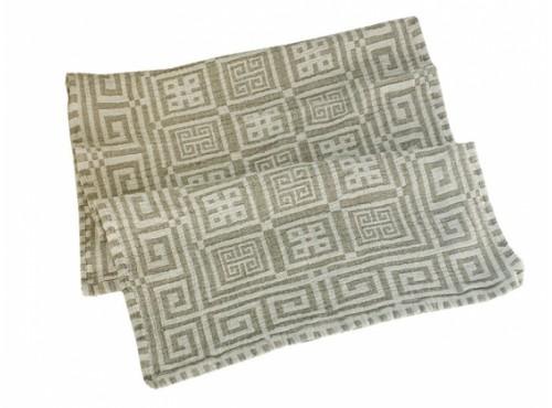 Полотенце льняное банное умягченное Греческое - 17С124