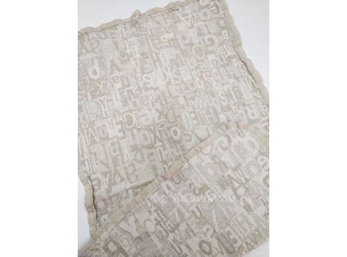 Полотенце льняное банное умягченное Шерлок - ШР-2