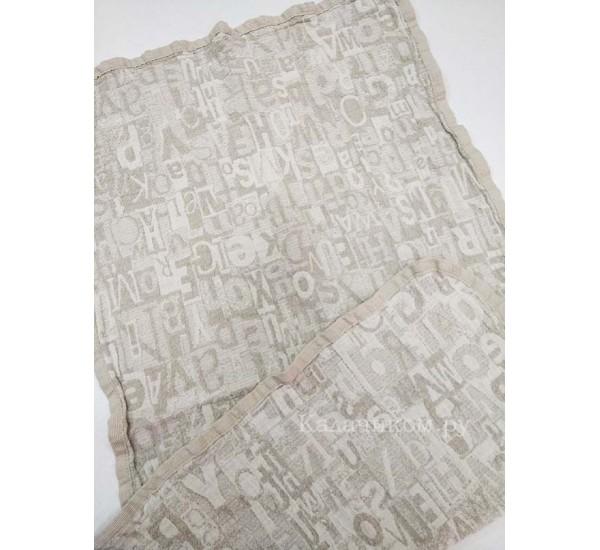 Полотенце льняное банное умягченное Шерлок