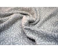 Полотенце льняное банное умягченное Космея