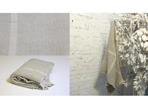 Полотенце льняное банное умягченное Токио - 17С555