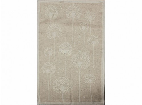Полотенце льняное  умягченное Одуваны - 21С145