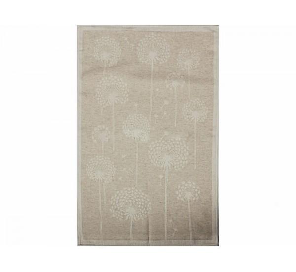 Полотенце льняное  умягченное Одуваны
