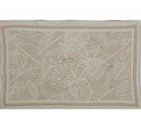 Полотенце льняное кухонное Резные листья-2