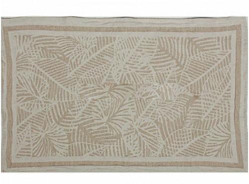 Полотенце льняное кухонное Резные листья-2 - 20С130