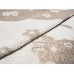 Простыня лен с хлопком махровая Киса - 0с81-5