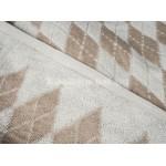 Простыня лен с хлопком махровая Ромбы - 6С101