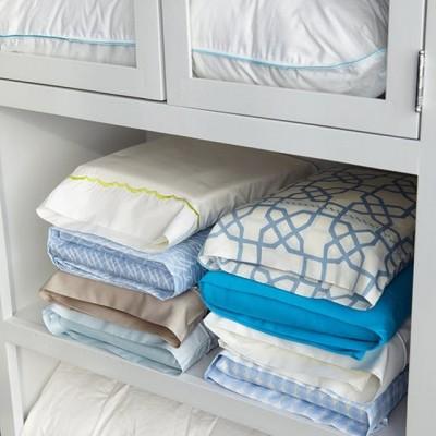 Секреты хранения постельного белья