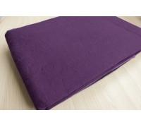 Пододеяльник  льняной умягченный цвет фиолетовый