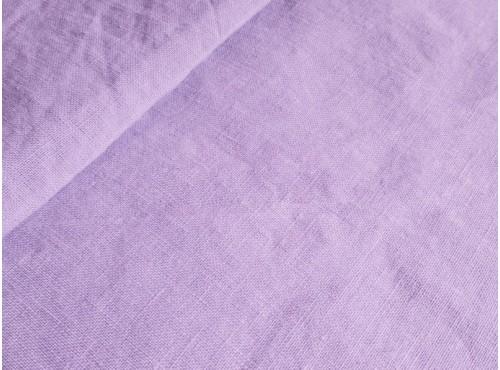Пододеяльник  льняной умягченный цвет лаванда - 18С307