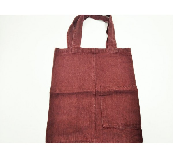 """Льняная сумка """"Цвет бордо"""""""