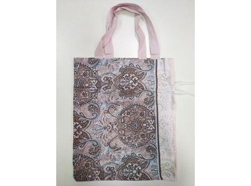"""Хлопковая сумка с завязками """"Византия""""  - ВЗ-2"""