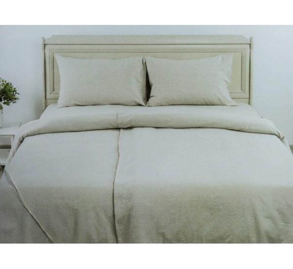 """Комплект умягченного постельного белья """"Серый"""""""